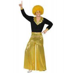 Déguisements, Déguisement homme disco doré taille M/L, 26386, 24,90€