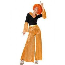 Déguisement disco orange femme taille M Déguisements 26402