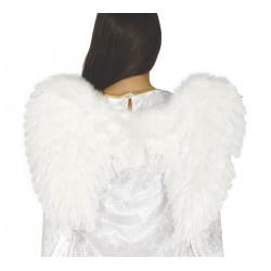 Ailes d'ange plumes blanches 50 cm Accessoires de fête 16885GUIRCA