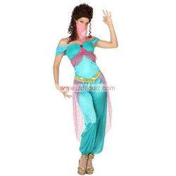 Déguisement danseuse arabe bleue taille XS Déguisements 26417