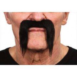 Moustache longue noire pirate Accessoires de fête 26422G