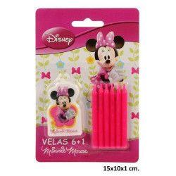 Déco festive, Bougies anniversaire Minnie, 265258, 2,38€