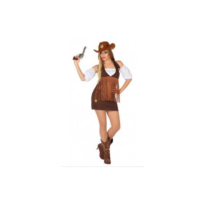 Déguisement de Cowgirl femme taille S