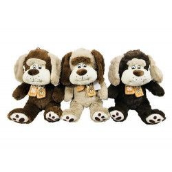 Jouets et kermesse, Peluche chien oreilles tombantes et écharpe 27 cm BT461, 2670, 4,10€