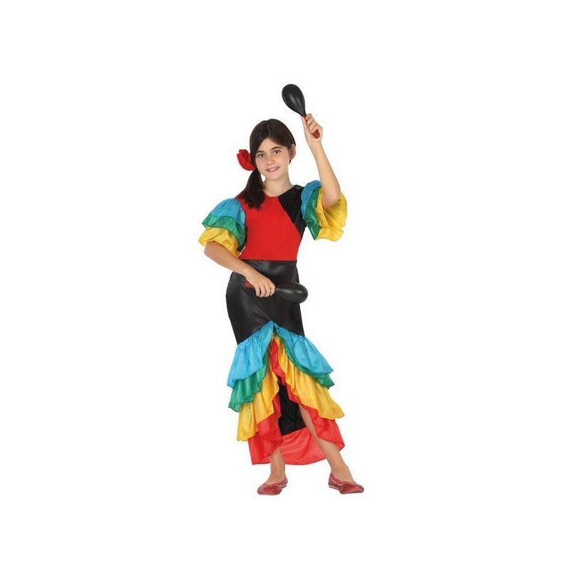 Déguisements, Déguisement danseuse de samba fille 3-4 ans, 26869, 24,50€