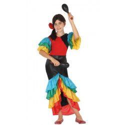 Déguisements, Déguisement danseuse de samba fille 10-12 ans, 26872, 24,50€