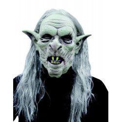 Masque de monstre avec cheveux longs Accessoires de fête 2748