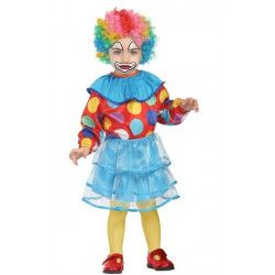 Déguisements, Déguisement clown bébé 6-12 mois, 27699, 19,90€