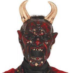 Masque de démon diabolique Accessoires de fête 2787