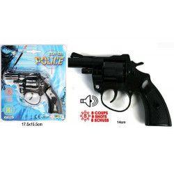 Pistolet à amorces huit coups Jouets et kermesse 28056-UNITE