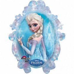 Déco festive, Ballon géant aluminium miroir Reine des Neiges™, 2816201, 5,90€