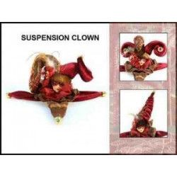 Suspension clown Déco festive 28197