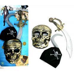 Epée pirate 36 cm avec accessoires Jouets et articles kermesse 28346
