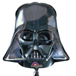 Déco festive, Ballon géant aluminium masque Dark Vador, 2844501, 4,60€