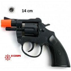Pistolet police bruiteur 14 cm Jouets et kermesse 28742