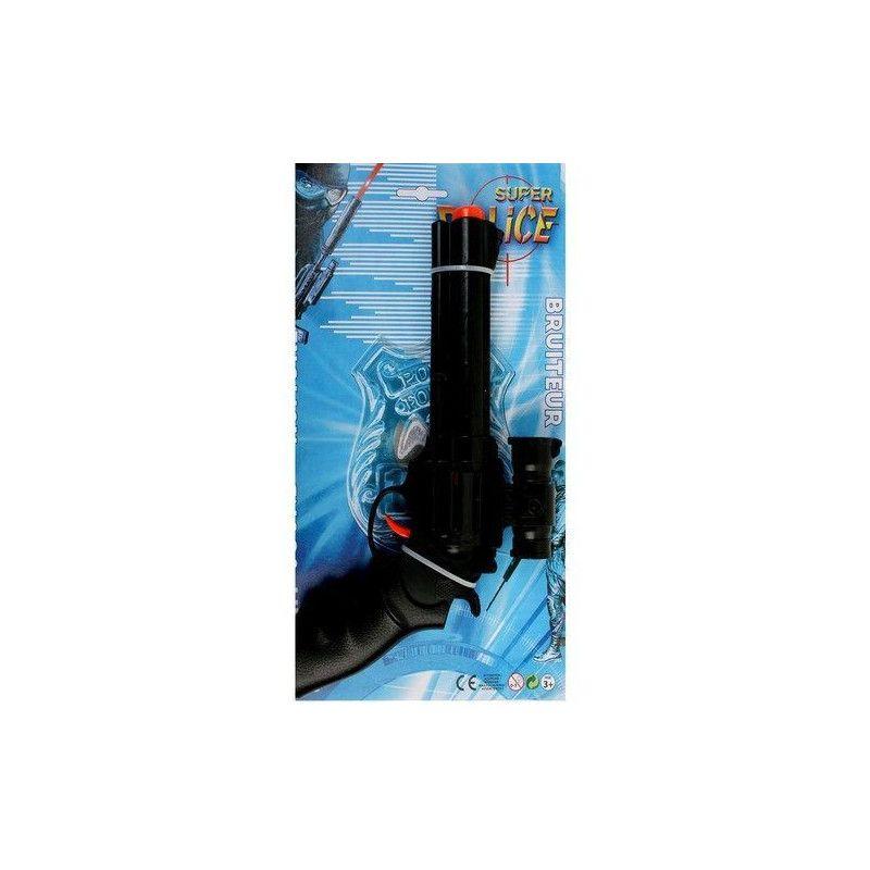 Jouets et kermesse, Pistolet police bruiteur avec viseur, 28810, 1,00€