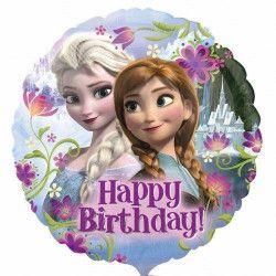 Ballon Happy Birthday la Reine des Neiges™ Déco festive 2900901