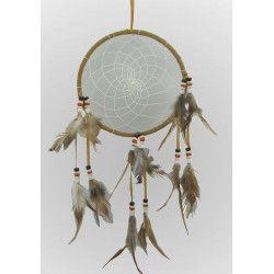 Déco festive, Attrape-rêves diamètre 16 cm, 2921, 3,40€