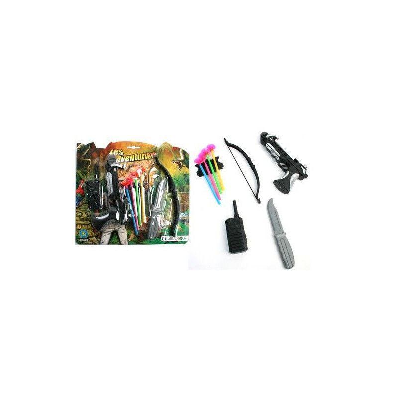 3 Flêches Set Kit du Petit Aventurier Pistolet Plastique Accessoires
