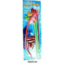 Arc 42 cm avec flèches-canards-carquois Jouets et kermesse 30011