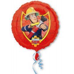 Déco festive, Ballon hélium Sam le pompier 43 cm, 3013301, 4,50€