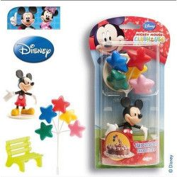 Kit de décoration Mickey™ pour gâteau Déco festive 302011