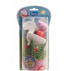 Déco festive, Kit de décoration Peppa Pig™ pour gâteau, 302029, 6,90€