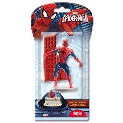 Déco festive, Kit de décoration spiderman™ pour gâteau, 302032, 6,90€