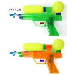 Pistolet à eau 17 cm 2 jets Jouets et kermesse 30332