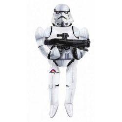 Ballon aluminium marcheur Storm Trooper Star Wars™ Déco festive 3040101