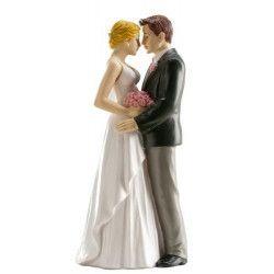 Déco festive, Figurine décoration couple de mariés amoureux, 305045, 10,90€