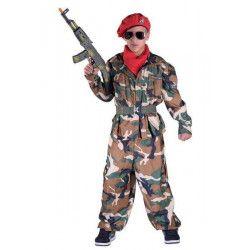 Déguisements, Déguisement parachutiste garçon 10 ans, 30710, 29,90€