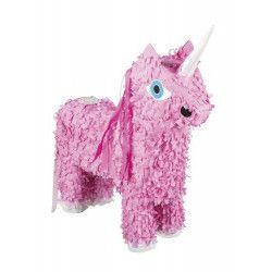Déco festive, Pinata licorne rose à tirer, 30933, 14,90€