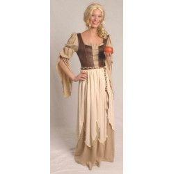 Déguisements, Costume baronne brun taille L, 3125054105, 44,90€