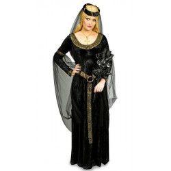 Déguisement princesse noire femme taille 40-42 Déguisements 3125084305