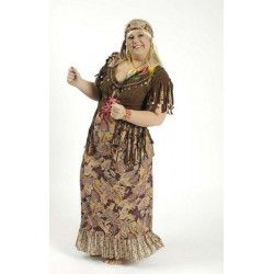 Déguisements, Déguisement robe sunny hippie taille 48-50, 3147231707, 58,90€
