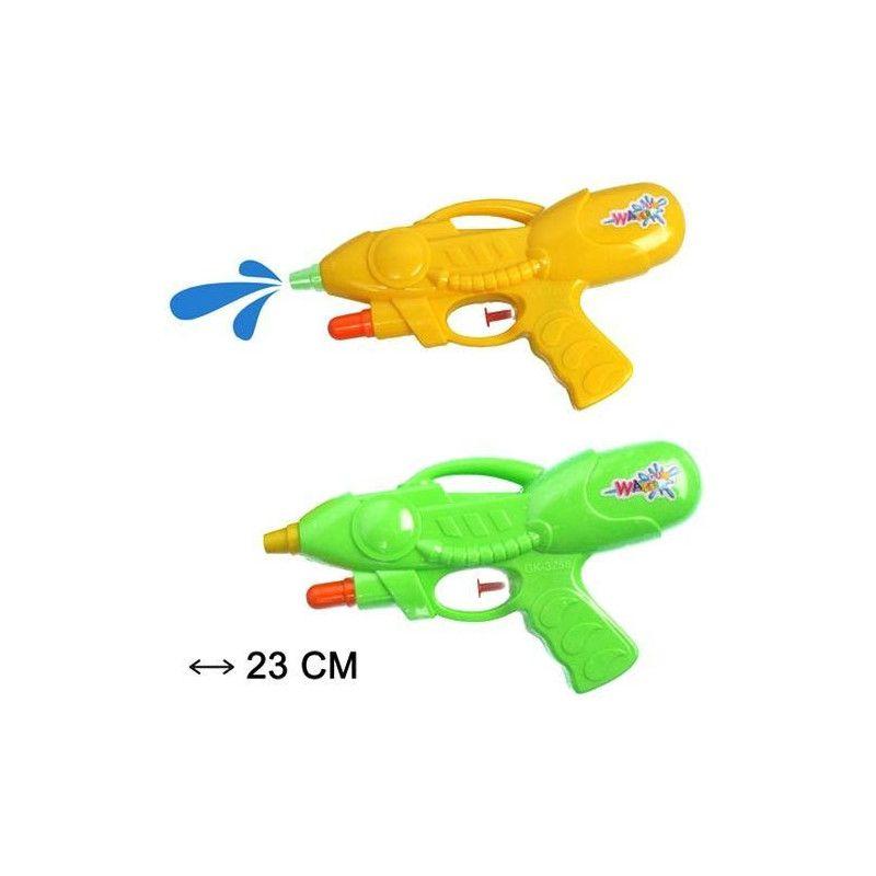Pistolet à eau 2 jets Jouets et kermesse 31483