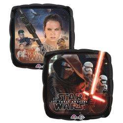 Déco festive, Ballon aluminium carré Star Wars VII™, 3161901, 4,50€
