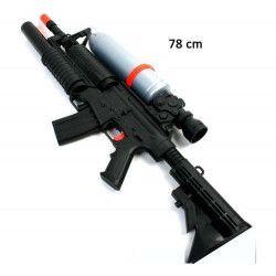 Fusil mitraillette à eau canon pompe 78 cm Jouets et kermesse 31865