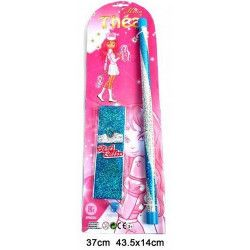 Bâton de gymnastique rythmique 37 cm Jouets et kermesse 31964