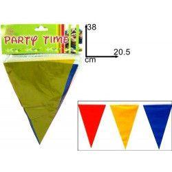 Guirlande multicolore de 9 mètres Déco festive 32001