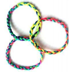 Bracelet brésilien 21 cm kermesse vendu par 48 Jouets et articles kermesse 32015-LOT