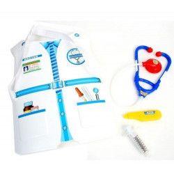 Panoplie docteur avec plastron et accessoires kermesse Jouets et kermesse 32053
