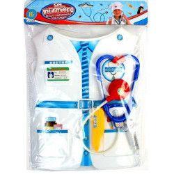 Panoplie docteur avec plastron et accessoires kermesse Jouets et articles kermesse 32053