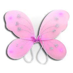 Ailes de papillon avec paillettes enfant. Accessoires de fête 32089