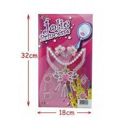 Blister accessoires princesse Jouets et kermesse 32300