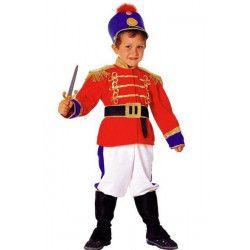 Déguisements, Costume Nutcracker soldat de plomb enfant 8 ans, 32508, 37,90€