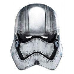 Masque carton capitaine Phasma Star Wars Accessoires de fête 32911