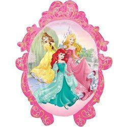 Ballon aluminium hélium Princesses Disney™ 51 x 69 cm Déco festive 3291602