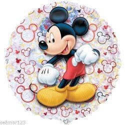 Déco festive, Ballon alu Mickey Mouse holographique 53 cm, 3292402, 2,40€